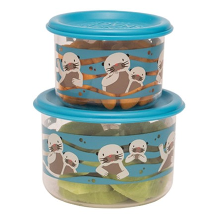 Snackdosen Good Lunch 'Baby Otter' 2er-Set