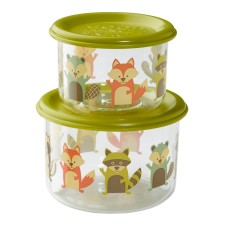 Snackdosen Good Lunch 'Fox' 2er-Set von sugar booger