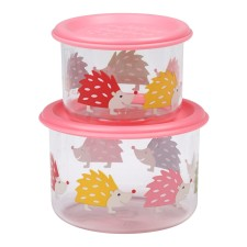 Snackdosen Good Lunch 'Hedgehog' 2er-Set von sugar booger