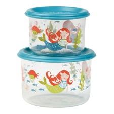 Snackdosen Good Lunch 'Isla the Mermaid' 2er-Set von sugar booger
