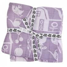 Spucktücher 'Nappies' Farm Girl 4er-Set von Sebra