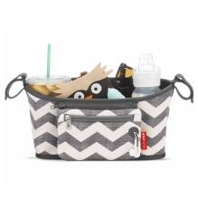 Kinderwagen Tasche Grab and Go Chevron von SKIP * HOP