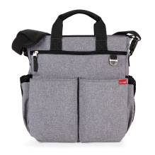Wickeltasche Duo Signature Heather Grey von SKIP * HOP