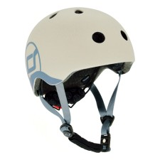 Kinder Fahrradhelm XXS-S Ash von Scoot and Ride