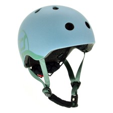 Kinder Fahrradhelm XXS-S Steel von Scoot and Ride