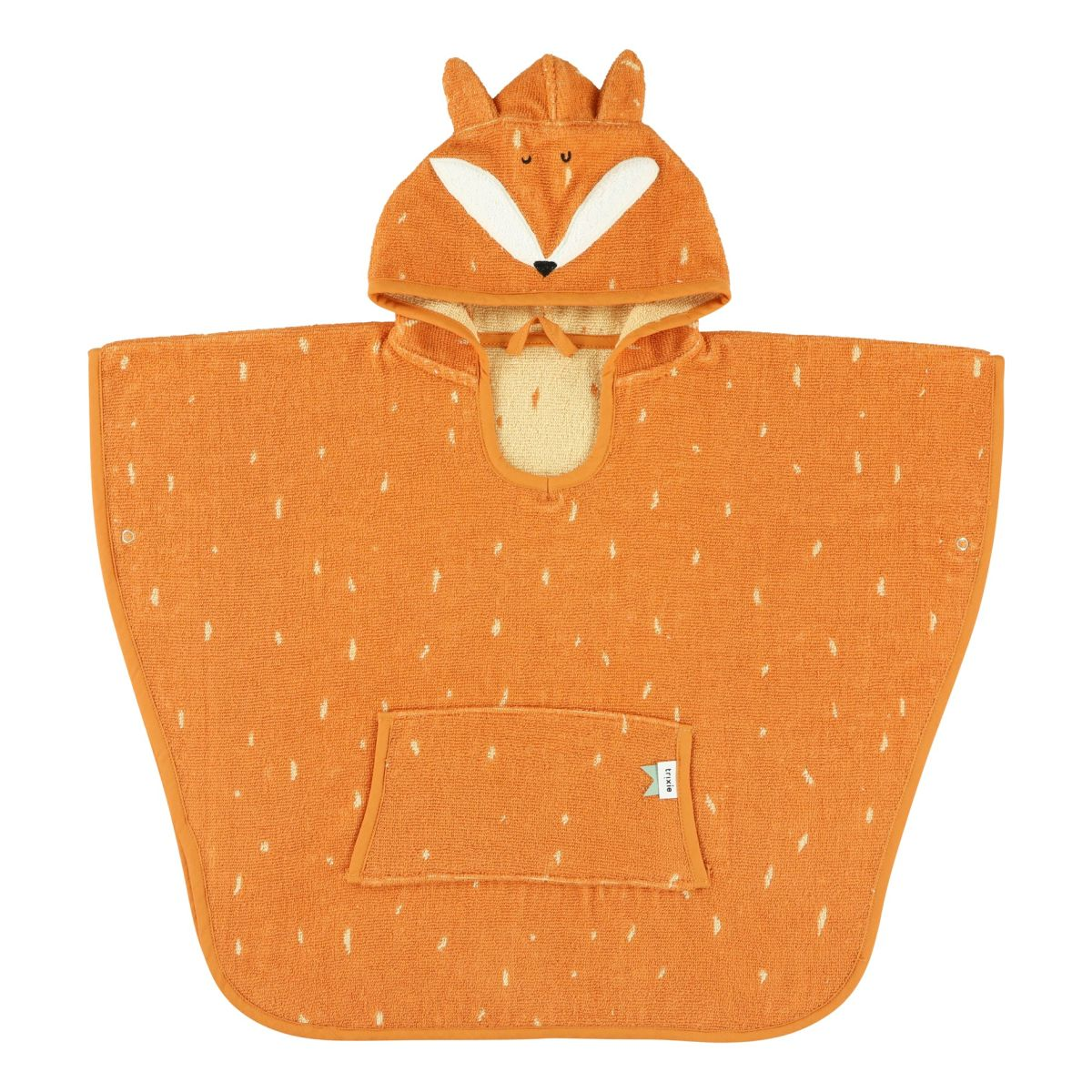 Badeponcho 'Mr. Fox' Fuchs orange