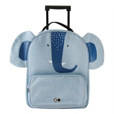 Kinder Trolley 'Mrs. Elephant' Elefant blau von trixie