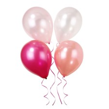 12 Luftballons Pink and Mix von talking tables