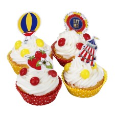 Cupcake-Set Zirkus Dorffest von talking tables