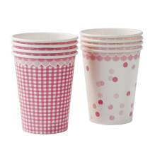 Pink N Mix Pappbecher 8 Stück von talking tables