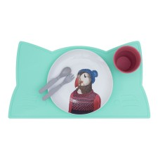 Platzset / Tischset 'Katze' mint von we might be tiny