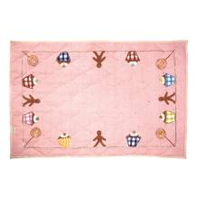 Spieldecke Boden-Quilt 'Gingerbread Cottage' klein von Win Green