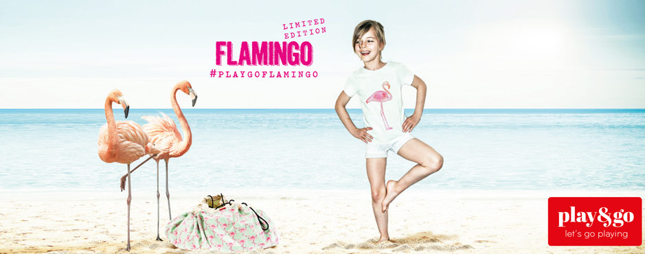 Play And Go Flamingo Special Edition